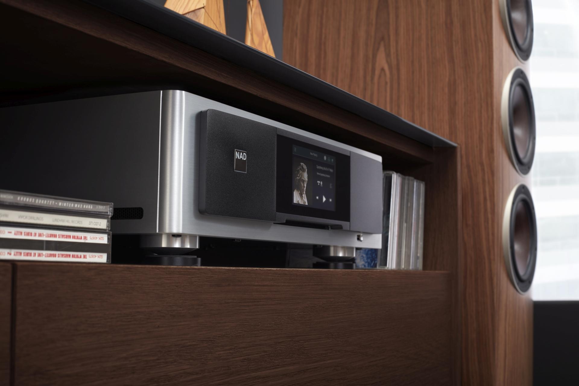A NAD bejelentette a legújabb Masters M33 BluOS streaming DAC/erősítőt