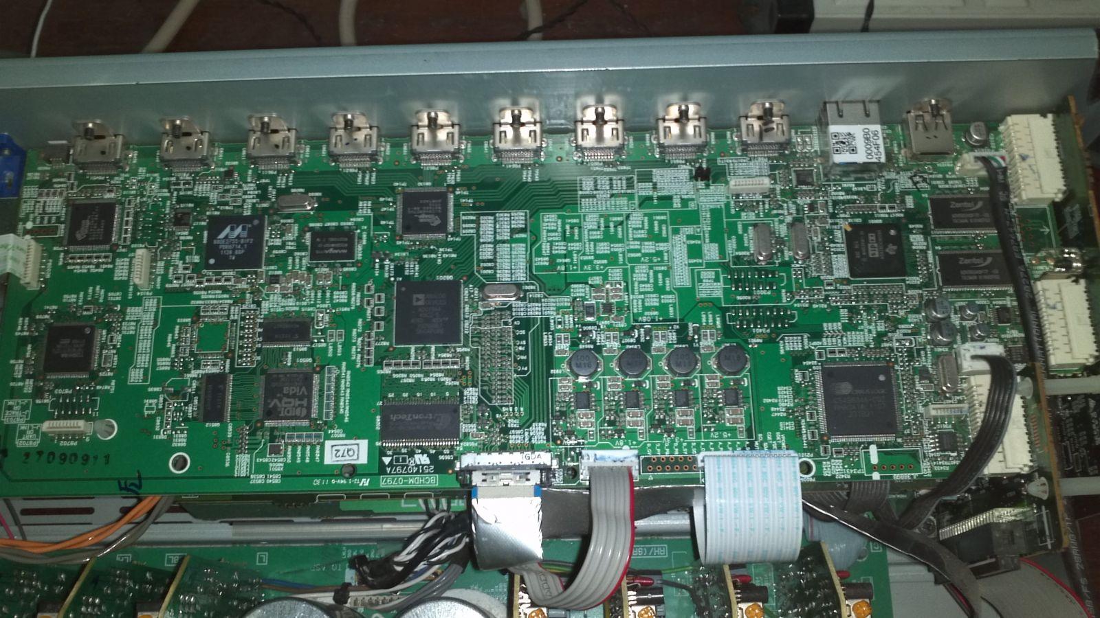 Onkyo HDMI panel csere program