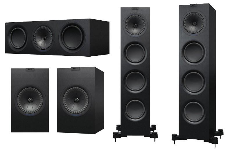 KEF Q750 5.0 hangfalszett teszt