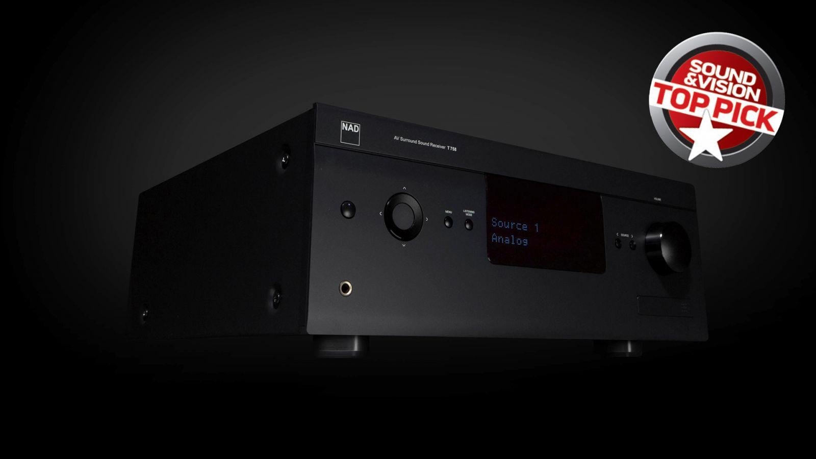 NAD T758v3 teszt a Sound and Vision-nél