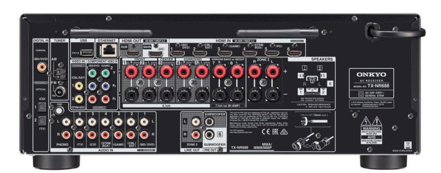 Rövidesen elérhető az Onkyo új középkategóriás házimozi receivere a TX-NR 686