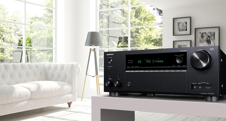 Az Onkyo új TX-RZ740-ese otthonunkba hozza a mozik izgalmát