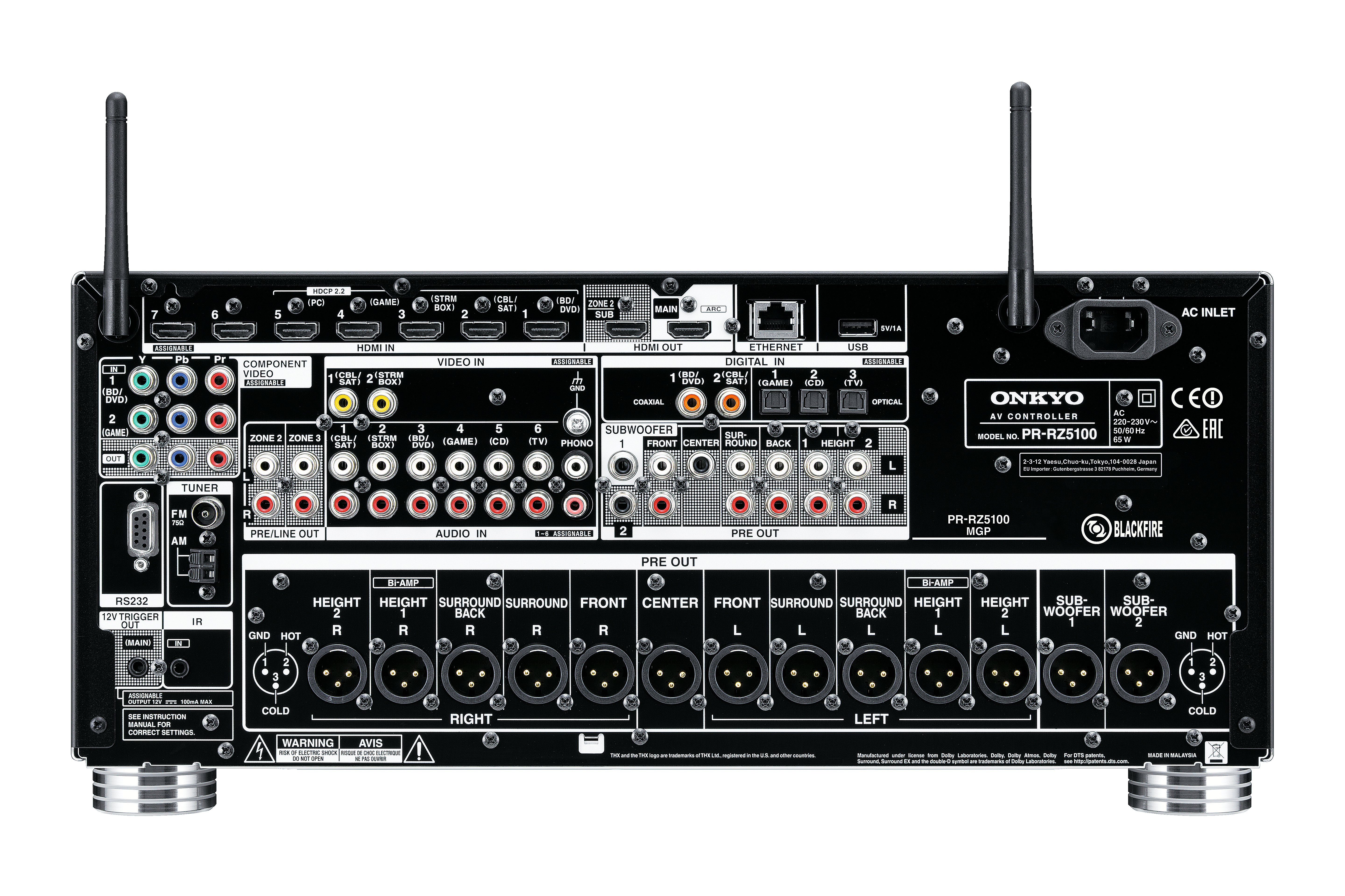 PR-RZ5100 Bl