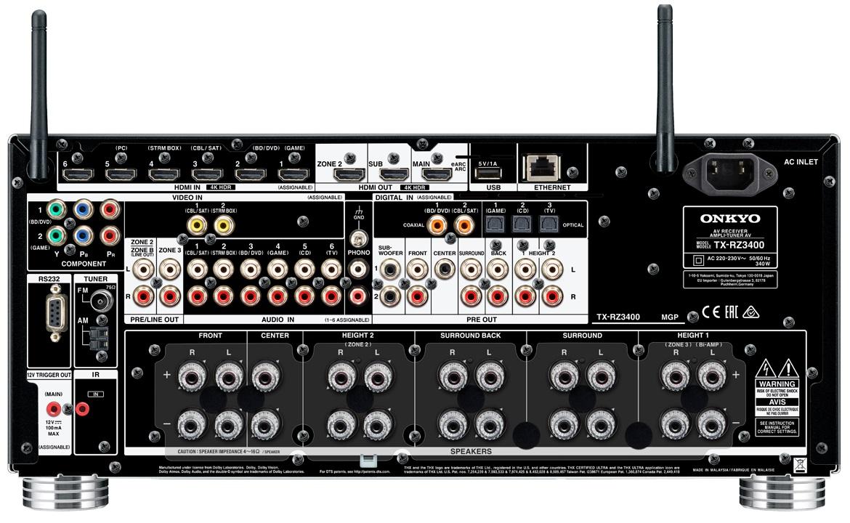 TX-RZ3400 Bl