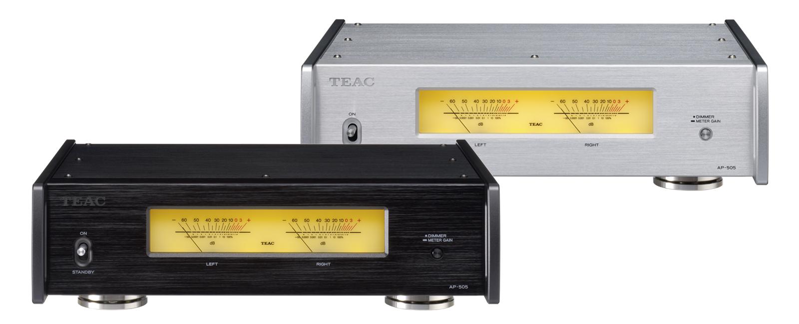 Hamarosan rendelhető az új TEAC AP-505 sztereó végerősítő