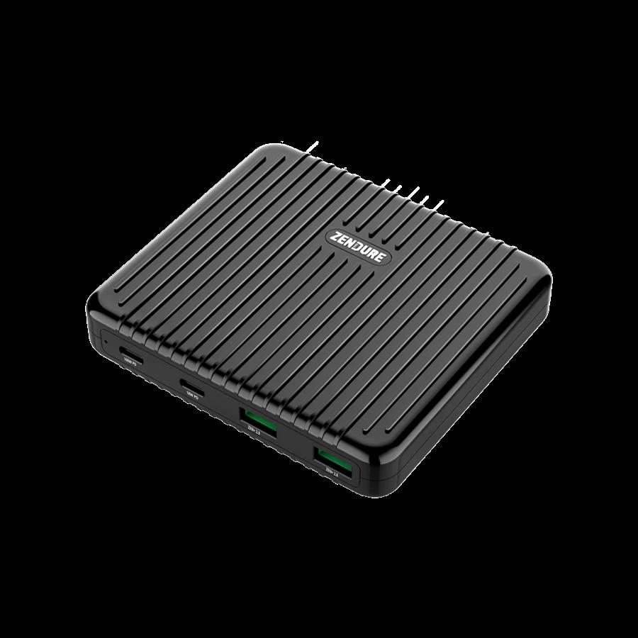 SuperPort 4 100W Desktop Charger Bl